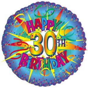 30th Foil Balloon