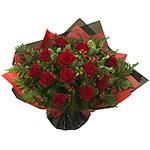 Passionate Red Roses Aqua