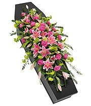 Lily & Rose Casket Spray