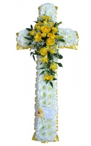 Yellow & White Cross