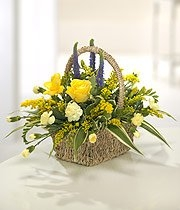 Yellow & Purple Basket