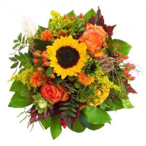 Sunflowers & Roses