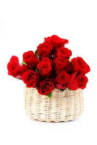 IT09 - Basket Ofred Roses