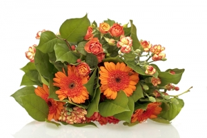 IT16 - Orange Flowers