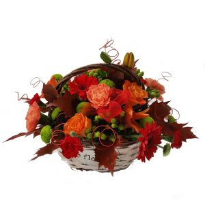 Crisp Autumn Basket