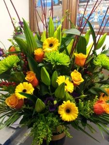 Vibrant Vase Arrangement