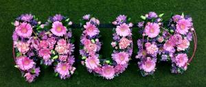 Loose Flower Letters