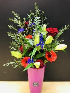 Country Garden Vase