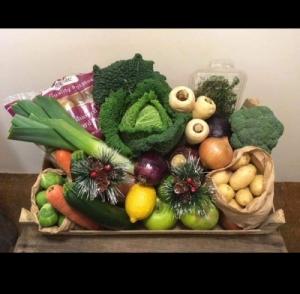 Christmas Vegetable Hamp