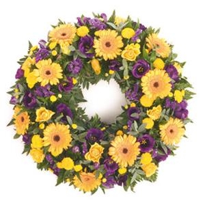 Loose Mixed Wreath