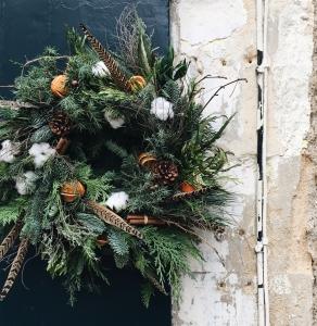 Handmade Mossed Wreath