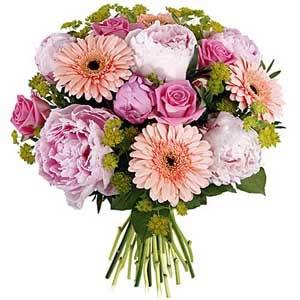 Bouquet Rond Pastel