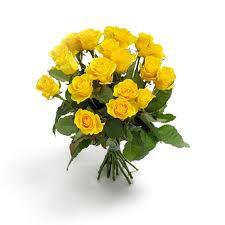 Bouquet Roses Jaunes