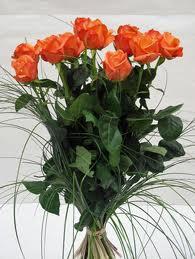 Bouquet De Roses Oranges