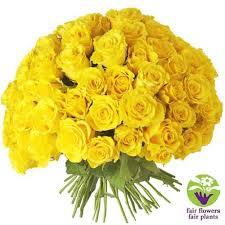 Bouquet Rond Roses Jaunes