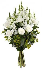 Bouquet De Fleurs Blanche
