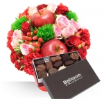 Bouquet +chocolat