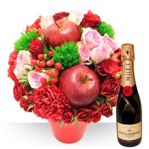 Bouquet Rond Vin Mousseux
