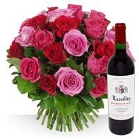 Bqt De Roses +vin