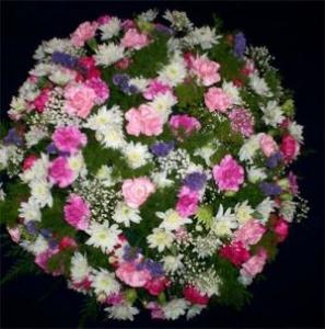 Coffin Wreath