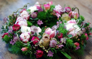 Cool Colourful Wreath.