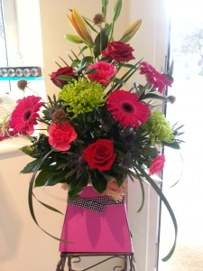 Front Facing Hand Tied
