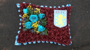 Aston Villa Pillow