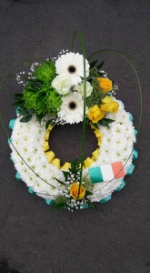 Irish Themed Wreath