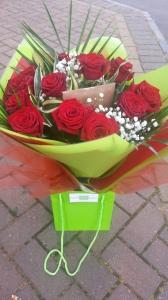 Dozen Red Rose Love