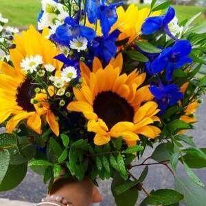 Sunshine Bridal Bouquet