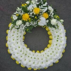 Based Classic Wreath