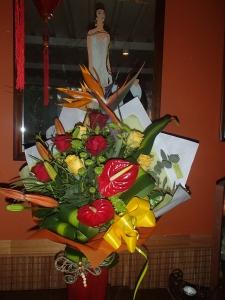 Tropical Garden In A Vase