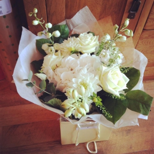 Simply White Hand Tied