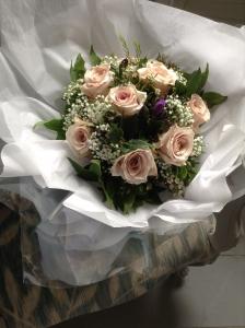 Rose And Freesia Gift Bag