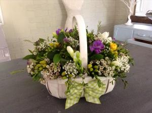Freesia Gift Basket