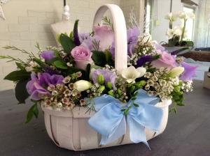 Soft Lilac Basket