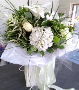 Elegant White Gift Bag