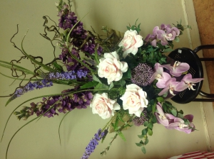Pastel Silk Arrangement