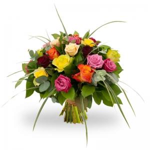 Bouqquet of mixed roses