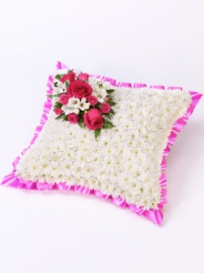 Classic White Cushion