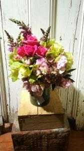 Clustered Vase