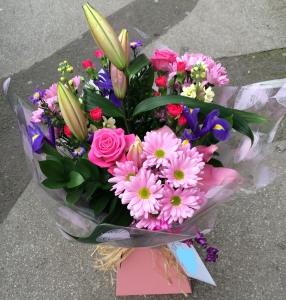 Pink Aqua Bouquet