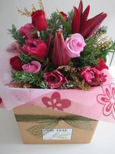 Reds & Pinks Flower Box