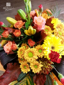 Bronze And Yellow Boquet