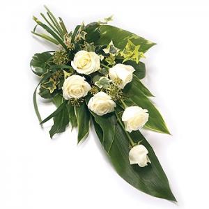 Tied Sheaf - 6 Roses