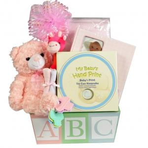 ABC Baby Pink ABC Wooden