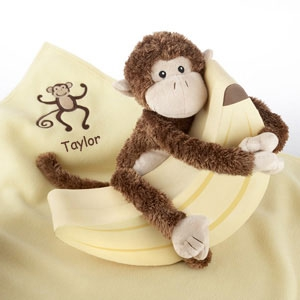 "Plush ""Monkey Magoo"