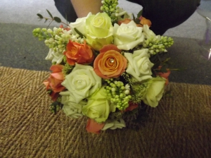 Zesty Wedding Bouquet