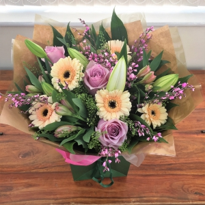 Lily, Rose & Gerb Bouquet