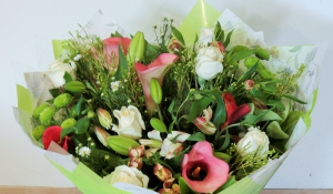 Green And Pink Bunch